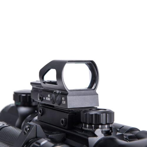 Rifle 4-16x50 w.Holographic 4 Reticle Sight Laser Combo New