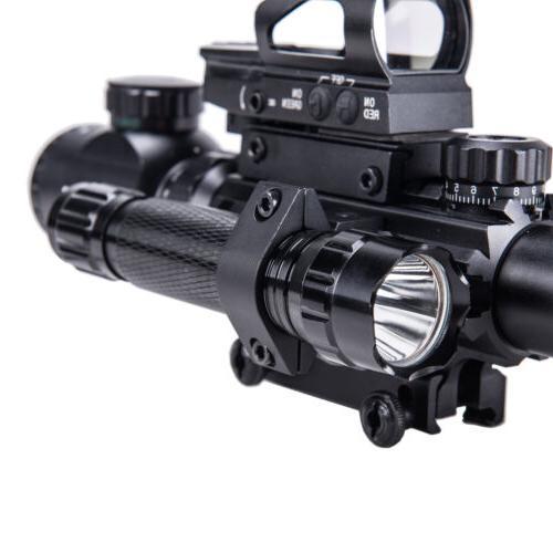 Rifle Scope w.Holographic Sight Laser Combo