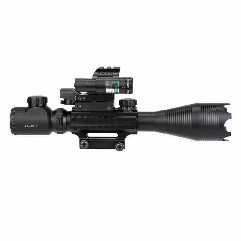 Pinty Scope Rangefinder Optic w/ Reflex Sight + Laser