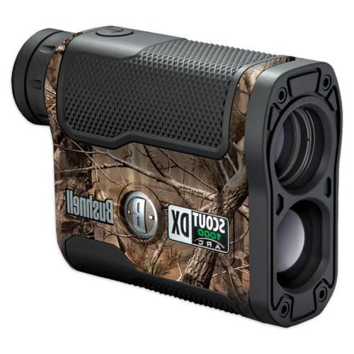 scout dx 1000 arc 6x21 laser rangefinder