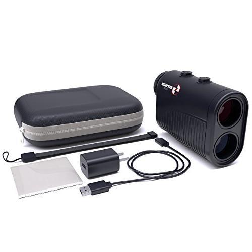 Saybien Rechargeable Golf Rangefinder with Slope - Finder Finder - 1,200 - Scan Mode Flag Lock