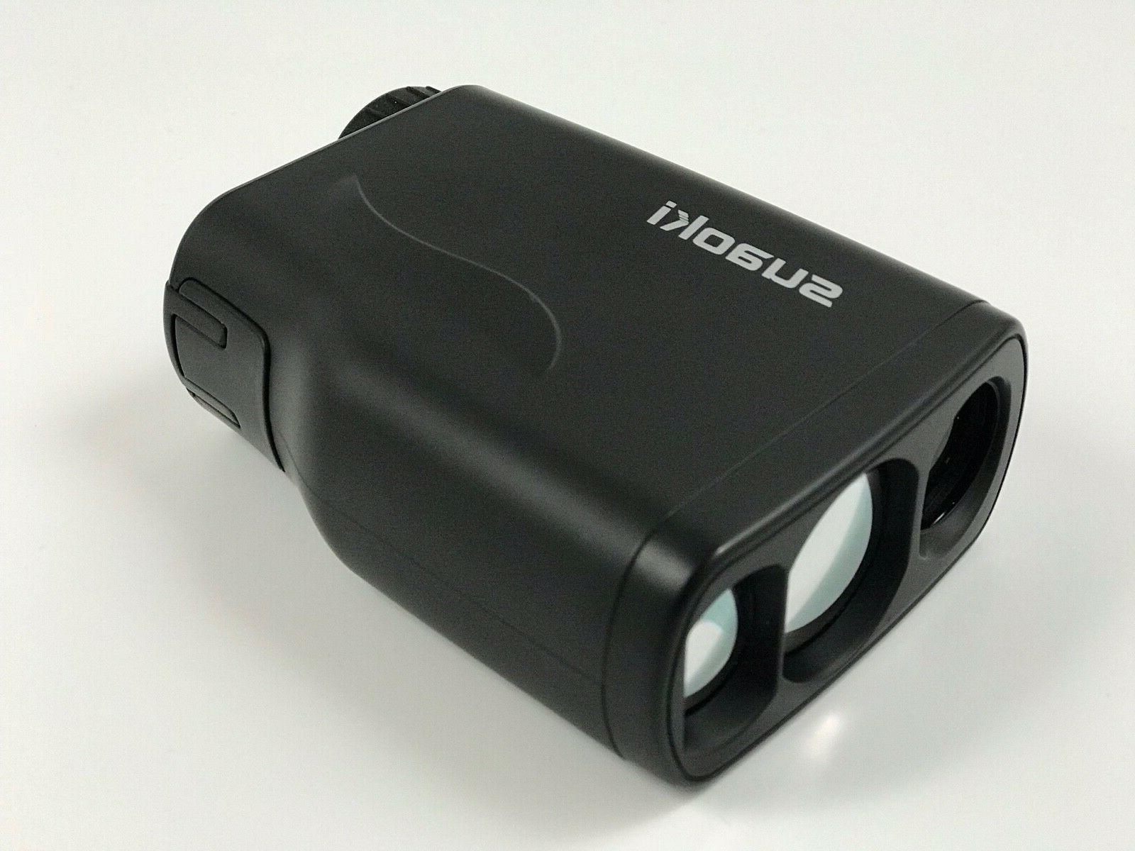 SUAOKI Golf Laser Rangefinder with Distance, Height,