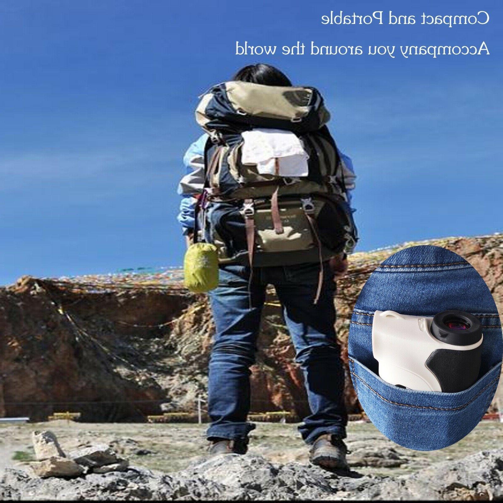 Surgoal HD 2000YD Laser Rangefinder Waterproof 6X-Mag- AMAZING Time