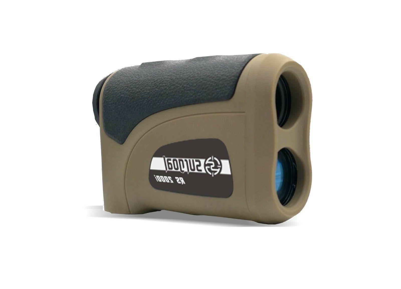 surgoal laser rangefinder rs2000i high accuracy 6x