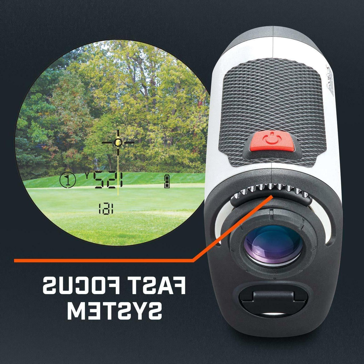 Bushnell Tour V4 Laser Technology