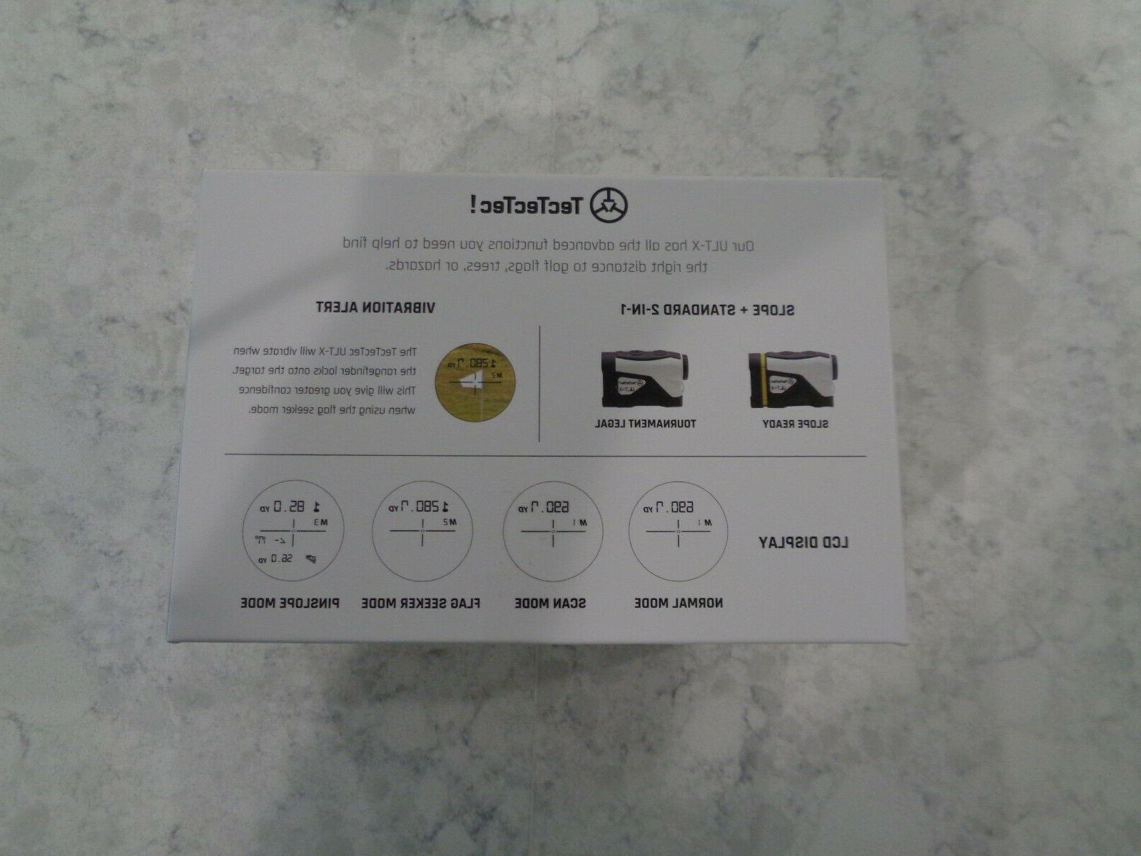 TecTecTec Golf Rangefinder Yd &