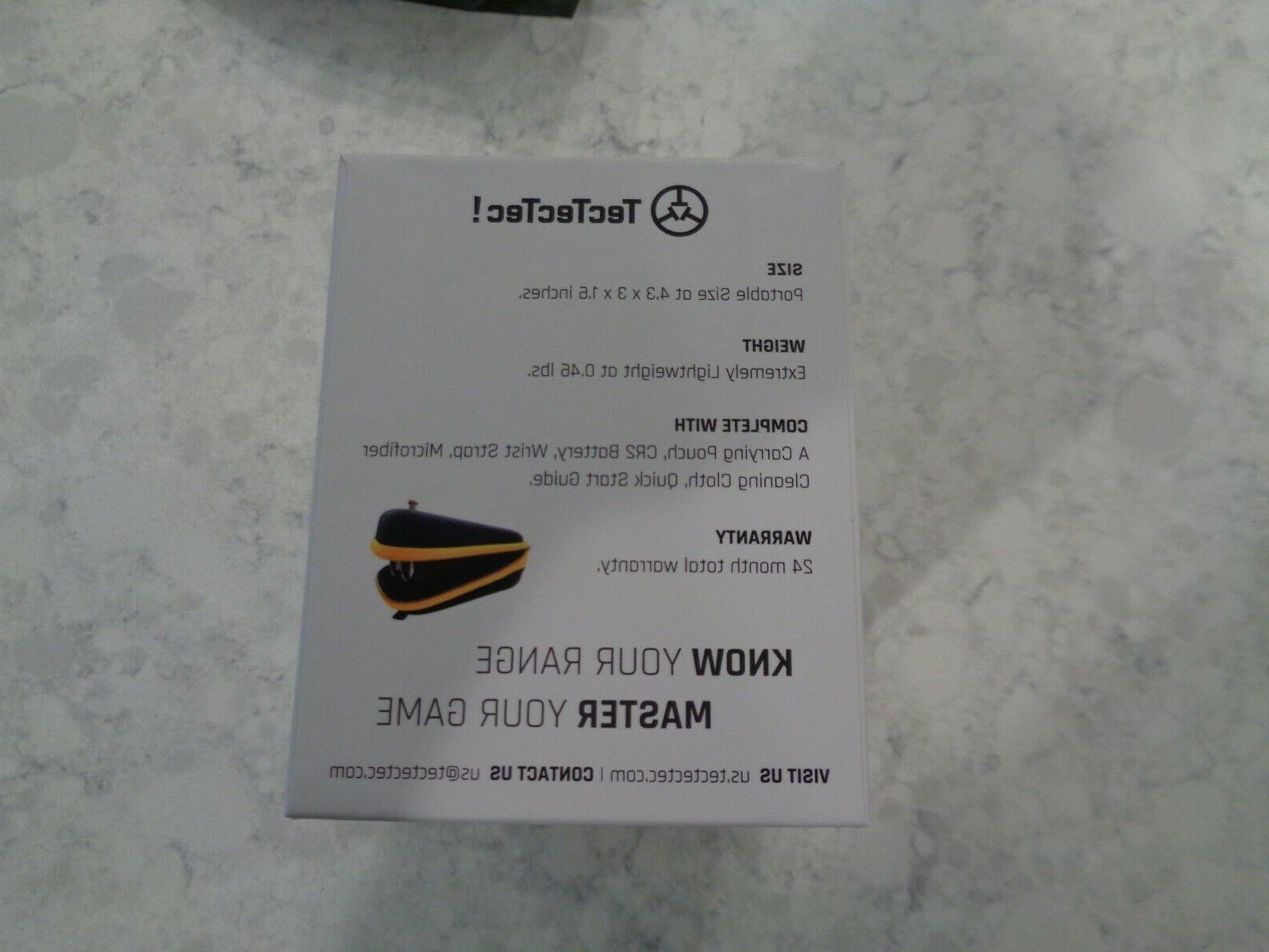 TecTecTec Golf Rangefinder w/1,000 Yd