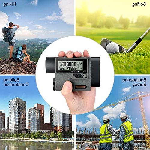 SUAOKI Version Rangefinder Range Finder with Speed/Distance/Angle/Height Ballistic Compensation for Golf