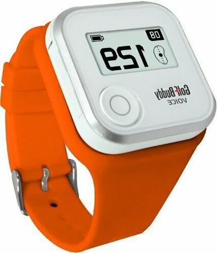 voice wristband orange