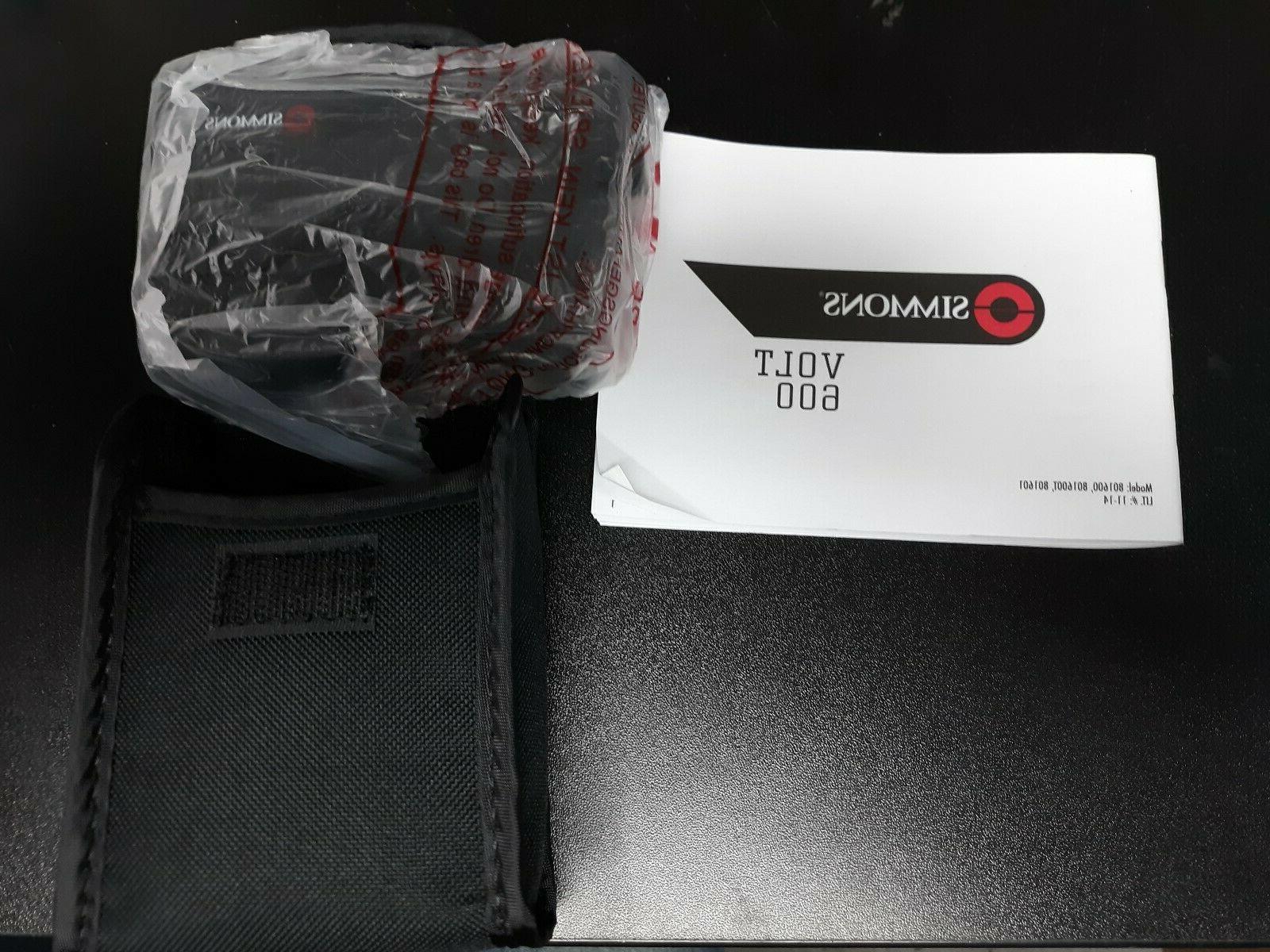 volt 600 laser rangefinder 4x magnification black