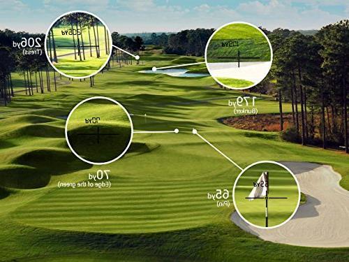 TecTecTec Golf Rangefinder - Black Color