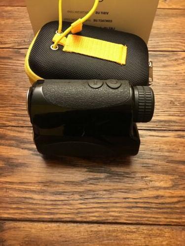 TecTecTec VPRO500 Rangefinder Laser Range Finder