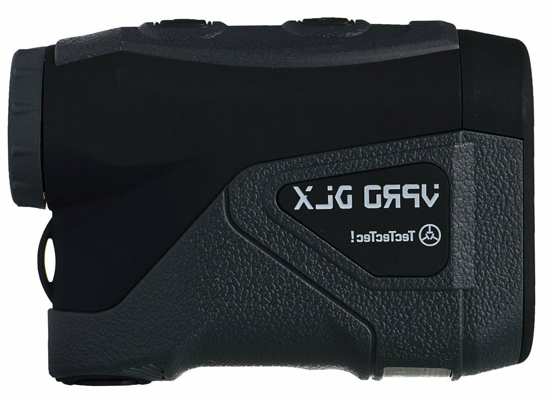Tectectec Vprodlx Black Golf Laser Rangefinder Waterpro