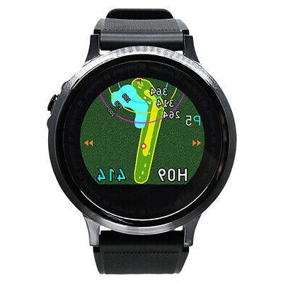 GolfBuddy WTX+ Golf GPS Rangefinder Black