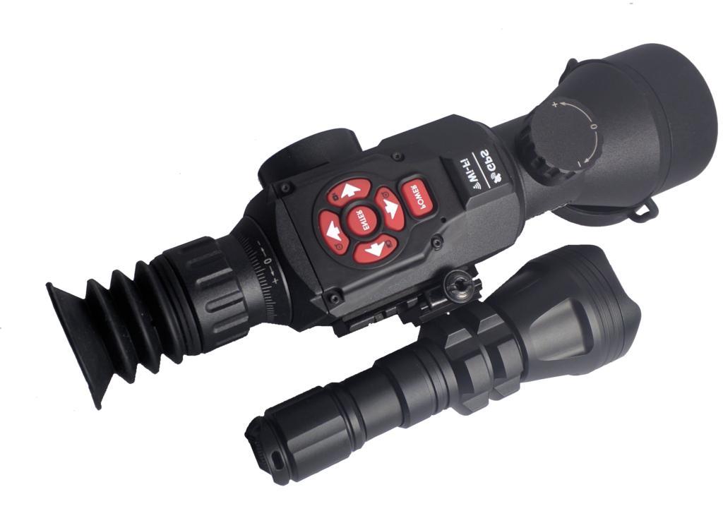 ATN X-Sight II HD 3-14x Smart Day/Night Rifle Scope + IR Tor