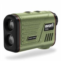 Laser Rangefinder Ranging 5-600 Yards 6X Magnification Lens