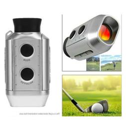 LCD Golf Laser Range Finder 7X18 Rangefinder Yardage Device