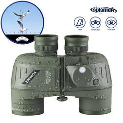 10X50 LLL Night Vison Military Marine Binoculars BAK4 Lens W