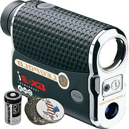 Luepold Golf GX-3i3 Rangefinder + CR2 Battery + 1 Custom Bal