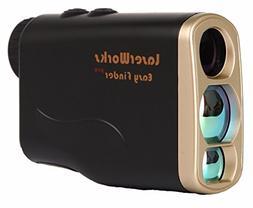 LaserWorks LW1000PRO Laser Rangefinder for Hunting Golf,Fog