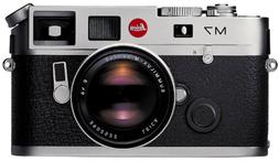 Leica M7 Rangefinder 35mm Camera w/ .72x Viewfinder, Silver