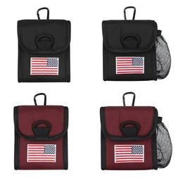 Magnetic Golf Rangefinder Protector Soft Case US Flag for Mo