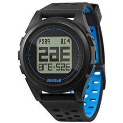 Bushnell Golf Ion 2 GPS Range Finder Watch - Black/Blue