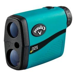 NEW Callaway 250+ Golf Laser Rangefinder  PAT w /Slope, Case