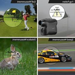 New 600m 6X Laser Rangefinder Distance Meter Golf Hunting Ra