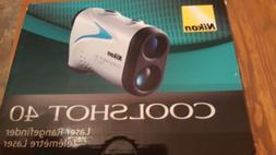 New Nikon Coolshot 40 Golf Range Finder
