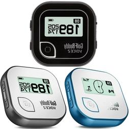 Golf Buddy Voice 2 Talking Golf GPS Rangefinder - Black, Blu