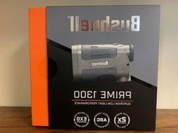 New Bushnell Prime 1300 6x24mm Laser Rangefinder W/ Angle Co