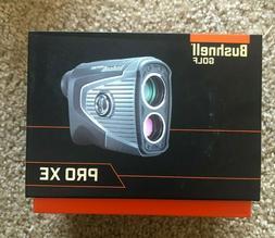 New Bushnell Pro XE Laser Rangefinder + 2 EXTRA BATTERIES