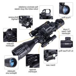 New Rifle Scope 4-16x50 EG w.Holographic 4 Reticle HD Sight