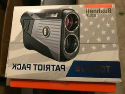 New Bushnell Tour V5 Patriot Laser Rangefinder Pack TOURV5