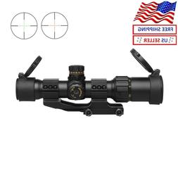 "NT1-4X28  Tactical Scope 5"" Eye Relief Cantilever Mil-Dot Ra"