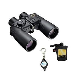 Nikon 16026 7x50 OceanPro Binoculars Golden Compass with Nik