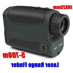 Optics 10X25 700m Laser Rangefinder <font><b>Scope</b></font
