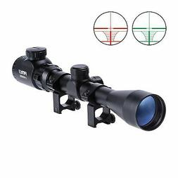 Pinty 3-9X40 Red Green Rangefinder Illuminated Optical Snipe