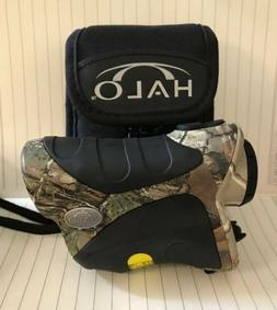 Preowned Halo Laser Hunting Rangefinder Camo And Black With