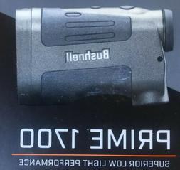 Bushnell Prime 1700 Laser Rangefinder, Black 6x25 Hunting Ta