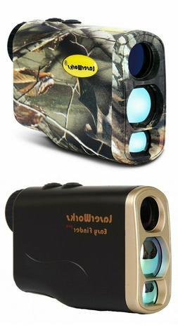Professional Laser Hunting Rangefinder LaserWorks Fog Measur