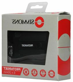 SIMMONS ProTarget 6 x 20 Rain Proof Rangefinder - SPL620BW -
