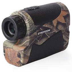 Wosports Range Finder for Hunting, Archery Rangefinder for B
