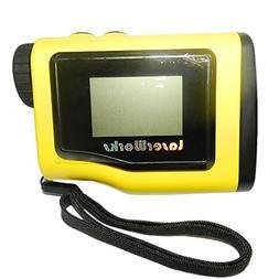 LaserWorks Rangefinder 1000 Yards +- 0.5Y With LCD Height Me
