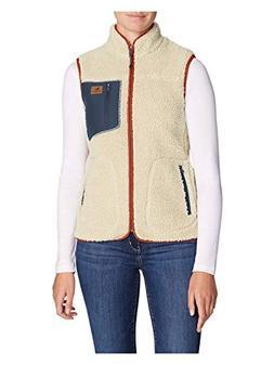 Eddie Bauer Women's Rangefinder Sherpa Vest, Oyster Regular