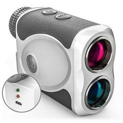 WOSPORTS Rechargeable Golf Rangefinder with Slope, 800 Yards