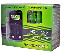 Maxx Rechargeables For Golf Rangefinder CR2 Li-ION 3V Batter