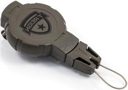 T-Reign  Medium Retractable Gear Tether, Hook and Loop Strap