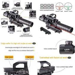 Pinty Rifle Scope 3 9X32eg Rangefinder Illuminated Reflex Si